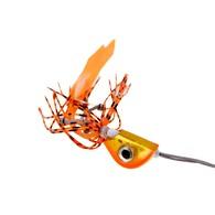 Beady Eye Kabura Jig - Orange Assassin