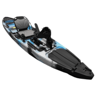Yellowfin Angler Pedal Fish 12 Kayak Package - Sea Ghost