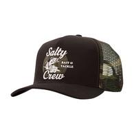 Bait & Tackle Retro Trucker Cap - Black/Camo