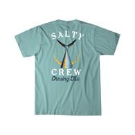 Tailed Short Sleeve T-Shirt - Sea Foam