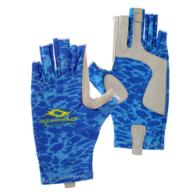 UV Fishing Gloves - Blue