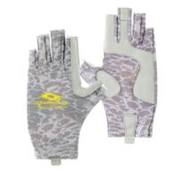 UV Fishing Gloves - Silver