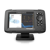 "Hook Reveal 5X 5"" Fishfinder With Trackplotter"