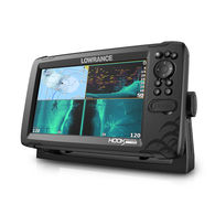 "Hook Reveal 9"" Tripleshot Transducer Fishfinder / Chartplotter Combo"