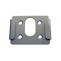 Quick-Mount Bracket Adaptor for Hooded BBQ / Grill Rotisserie