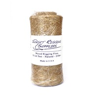 35lb waxed rigging Floss - 1/4 Spool