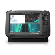 "Hook Reveal 7x 7"" Tripleshot Transducer Fishfinder w/ GPS Trackplotter"