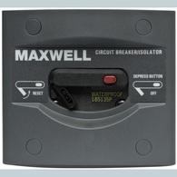 Maxwell 135 Amp 12/24-volt Windlass Isolator Circuit breaker