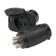 ConnectPro 12-48v 70A Trolling Motor Plug and Socket