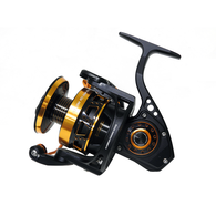 Monster Game 8000XH/16000S Spin Reel - Black / Gold