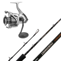 "Tomcat 8000 / Tournament Concept 7'9"" 2-Pce PE4-6 Topwater Combo with Braid"