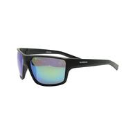 Vanquish Sunglasses - Black Smoke / Orange Mirror