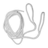 Braided Nylon Fender Line w/Loop - White - 8mm x 1.8m - 2-Pk