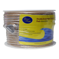 Anchor Rope Pack Nylon Double Braid W/ Spliced SS Thimble