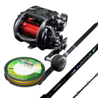 "Plays 4000 Electric Combo with Auratus 5'6"" 15-24kg Rod with Braid"