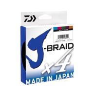 X4 J Braid 80LB X 300M Line Multi Colour