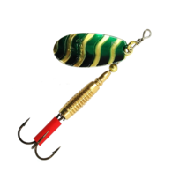VELTIC LURE SPINNER GOLD/BLACK/GREEN