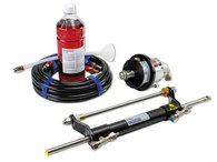 Hydraulic Outboard Steering Kit to 90HP - Front Mt