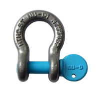 10mm Galvanised Towing Bow Shackle 2500kg