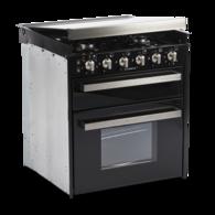 CU401 4 Burner Oven & Grill w/Glass Top