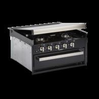 CU402 4 Burner Hob with Grill