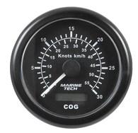Speedometer 0-30Knots 12/24V GPS - 85mm