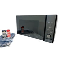 25L 240v Microwave Oven - Mirror Finish
