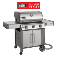 Genesis II S315 Stainless BBQ 3 Burner NG (Natural Gas) Barbecue - Specialist