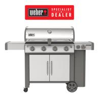 Genesis II S455 Stainless Premium BBQ 4 Burner + Side LPG Barbecue - Specialist