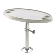 Pedestal Table Set with Removable Table - 45CM x 76CM