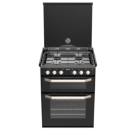 Caprice K1500 Burner Oven with Grill & Light - New Look Mirror (New model)