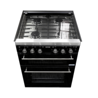 Caprice K1500 4-Burner Oven with Grill & Light - Carbon (New)