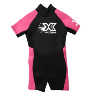 Extreme Limits Kids Spring Suit - Black / Pink