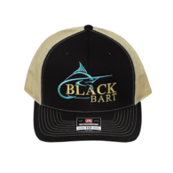Marlin Black / Tan Hat