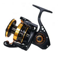 Monster Game 5000XH/7000s Spin Reel - Black / Gold