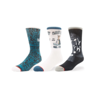 Pescado Sock Assorted 3 Pair Pack (7-11)