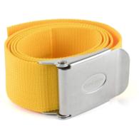Yellow Dive Weight belt S/Steel Buckle
