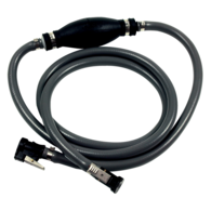 Premium Outboard Reinforced Fuel Line Assembly - Evinrude