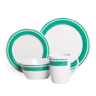 Melamine Dinner Set - 16 pc - Ocean Spray
