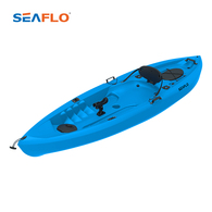 10' Fishing kayak with paddle - Blue