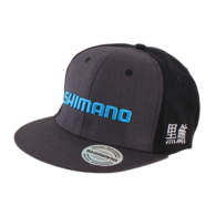 Cap - Charcoal/Black - Blue Logo
