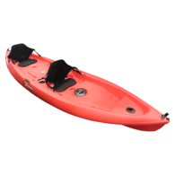 Fortress 2 Person Fishing Kayak 3.72m w/Paddle, Deluxe Seats