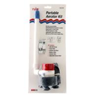 Portable 12V Live Bait Aerator kit 360GPH