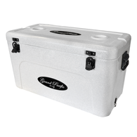 Premium Grade Ice Box Chilly Bin 70 Litres - Marble