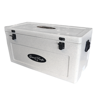 Premium Grade Ice Box Chilly Bin 85 Litres - Marble