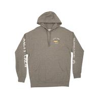 Ahi Mount Hooded Fleece - Gunmetal Heather