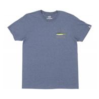 Mossback Short Sleeve Tee-Shirt - Navy Heather