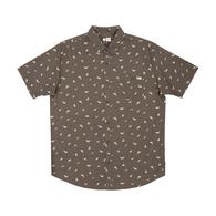 Bay Bass Short Sleeve Woven Shirt - Asphalt