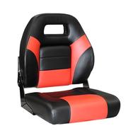 Viper Super Deluxe Fisherman Seat - Black/Red