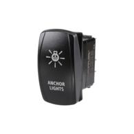 Anchor Light Rocker Switch with LED - 12/24V